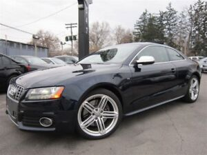 2010 Audi S5 4.2L V8~NAVIGATION~46KMS~LOW KMS~SUNROOF~AWD !!!