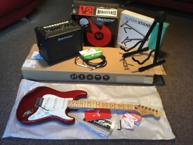 For Sale.....Fender Stratocaster, Amp and Lead.