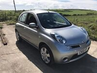 NISSAN MICRA ACENTA 1.2 5DR SILVER 2010 ONLY 51,000 MILES