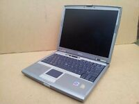 Refurbished Dell Latitude D610 Windows 7 Cheap Fast Laptop Sale - WIFI, Wireless