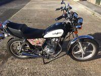 Lexmoto Vixen 125cc over a year until MOT due 3531 miles on clock