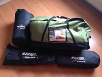 VANGO MARITSA 700 TENT, FOOTPRINT AND CARPET!! EXCELLENT CONDITION USED TWICE!!!