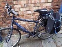 21 gear Apollo hybrid bicycle