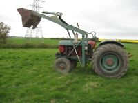 Nuffield Tractor 1970 4/65
