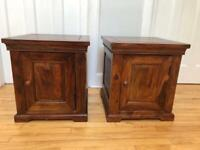 M&S pair of bedside tables/side tables