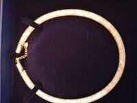 Swarowski stardust necklace