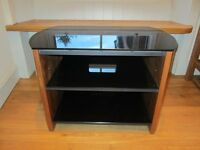 Alphason Finewoods Compact Walnut TV Table