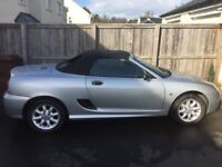 **SPARES OR REPAIR ** RARE MGtf convertible 1600 in Silver. Great summer car!
