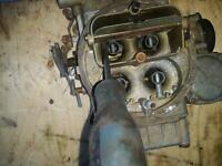 Holley 4 barrel Marine Carburetor from a V8