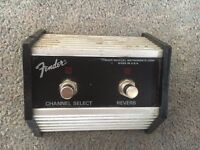 Vintage Fender Twin Reverb Footswitch £50