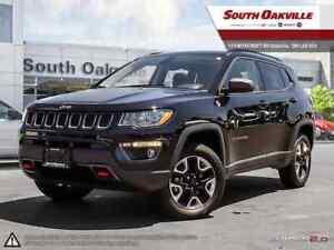 2018 Jeep Compass Trailhawk | DUAL SUNROOF | HEATED LEATHER | NA