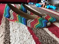Hand made brand new size 5 multi colour from Asia