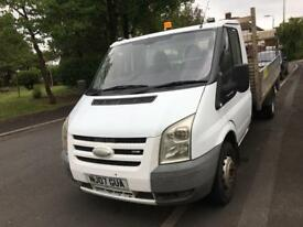 07 plate ford transit Tdci dropside with rear tailift