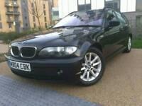 BMW 320d TOURING BLACK ** FULL SERVICE HISTORY ** 2 KEYS ** LEATHER SEATS