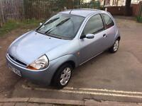 FORD KA 1.3 PETROL 2007 LOW MILEAGE ONE PREVIOUS OWNER NEW MOT AIRCON