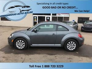 2014 Volkswagen Beetle Comfortline, AC, Cruise, Huge sunroof, lo