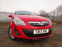 013 VAUXHALL CORSA SE 1.4 AUTOMATIC,MOT SEPT 018,PART HISTORY,ONLY 1 OWNER FROM NEW,STUNNING EXAMPLE