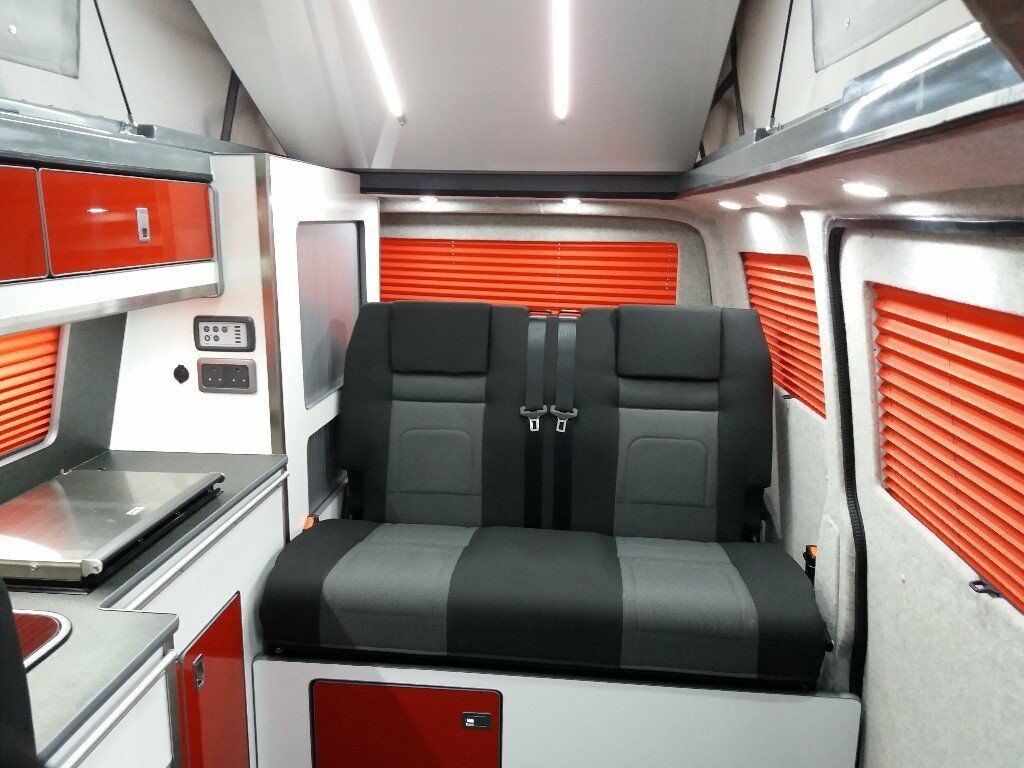 2017 VOLKSWAGEN TRANSPORTER T6 SWB CAMPER VAN CONVERSION WITH RIB BED
