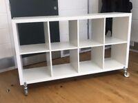 KALLAX Ikea storage cupboard shelving unit x 2