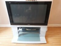 42 inch flat screen TV with stand. Super sound