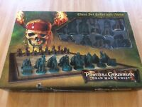 Disney pirates of the Caribbean dead mans chest collectors edition chess set
