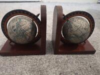 Vintage globe book ands