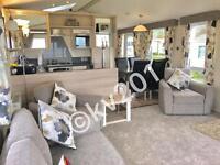 **BEACHFRONT**•• brand new•• 3 bedroom platinum caravan for hire at craig tara