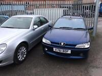diesel manuel peugeot 306 estate long mot alloy wheels