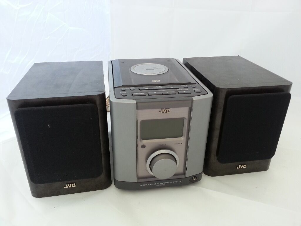 jvc stereo micro hi fi system ux 1000 cd radio aux mp3 in whitstable kent gumtree. Black Bedroom Furniture Sets. Home Design Ideas
