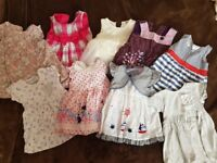 Baby girl clothes 0-9 months