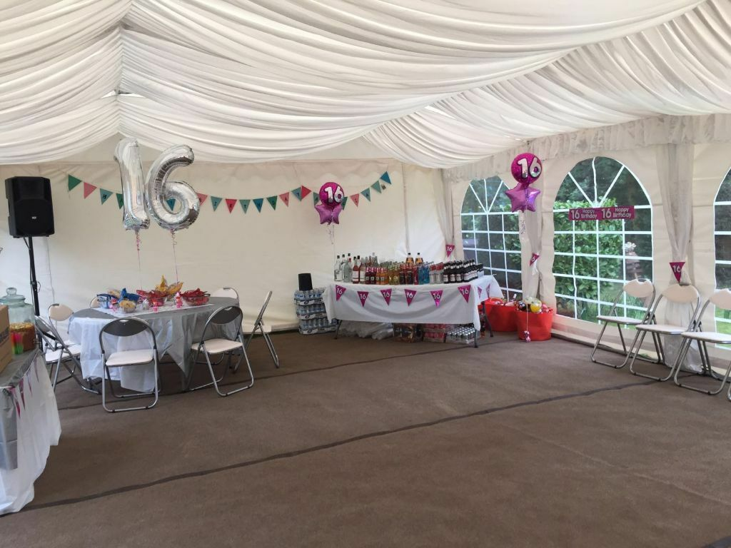 Marquee furniture dance floor hire london south east for Garden pool hire london