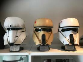 Anovos full size rogue one helmets star wars