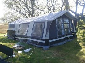 Sunncamp 400s acrylic trailer tent (2010 model) for sale