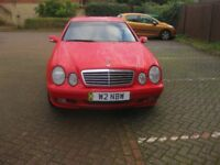 Mercedes 2.3 CLK Supercharge