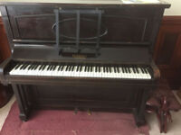 old goodfrey piano. Free to uplift.
