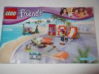 LEGO FRIENDS SKATE PARK 41099