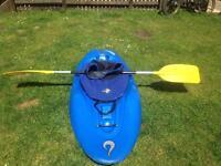Liquid logic scooter playboat kayak