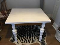 Solid Pine Dining Table - 4 Seater