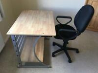 Home/ Office desk and swivel chair