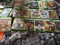 Xbox 360 Kinect and 22 games with 250 hard drive