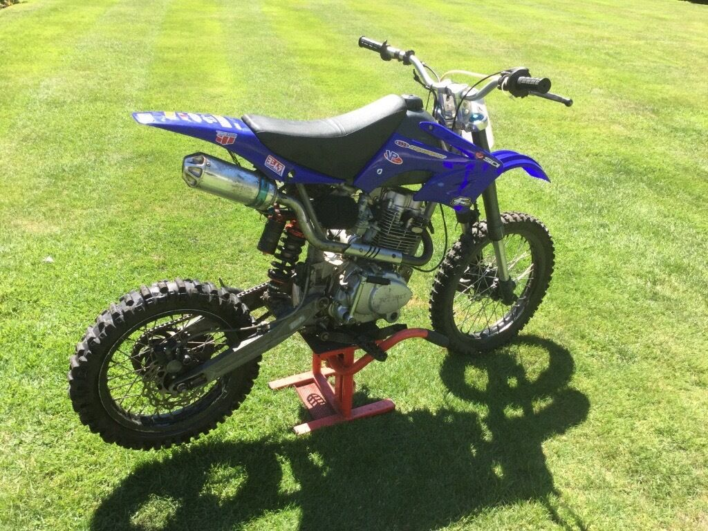 ghost 250cc pit bike big wheel not 125cc