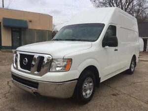 2013 NISSAN NV2500 HIGH ROOF COMMERCIAL WORK VAN - GMC SAVANA CHEVY CHEVROLET EXPRESS DODGE MERCEDES SPRINTER CARGO VAN