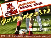 Football Teams wanted for 5-a-side leagues - £30 per game and a chance to win £50,000!!