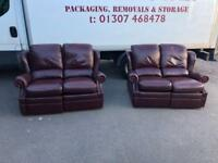 G Plan leather suite * free furniture delivery *