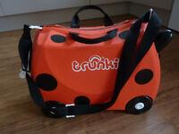 Ladybird Trunki Kids luggage airports travel etc.