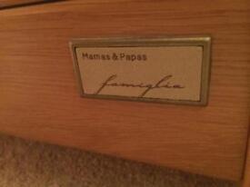 Mamas & Papas Solid Oak Ocean Furniture Set