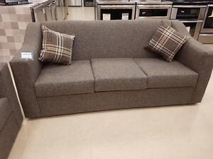 Canadian Made Fabric Sofa on Sale- Brand New Sofa Sale WITH CUSHIONS (AD 75)