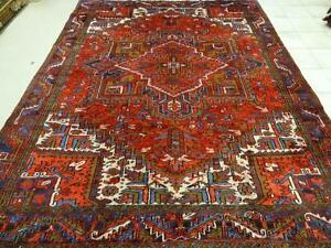 Heriz persian carpet With Nice pattern,Trible, (Shipping Available)