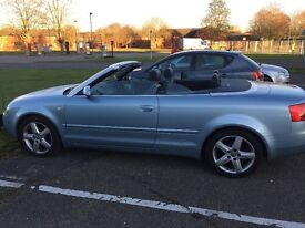 Audi A4 2.4 petrol automatic excellent condition. Full years mot elec roof and windows