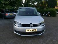 Quick sale PCO 2014 Volkswagen  Sharan  automatic BlueMotion
